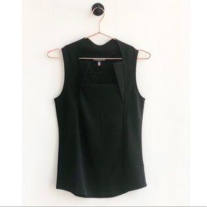 VICTORIA'S SECRET Black Sleeveless Blouse Small